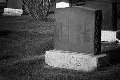headstone fotos de archivo libres de regalías