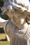 Headstone angel Stock Image