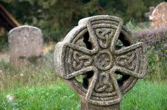Headstone celtico Fotografia Stock Libera da Diritti