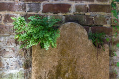 Headstone Royalty Free Stock Photography