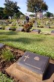 Headstone di Anzac Fotografia Stock Libera da Diritti