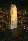 Headstone grave Immagine Stock