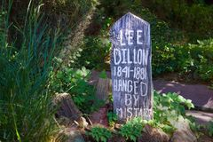 Free Headstone Grave Marker With Humor Stock Photos - 146209673