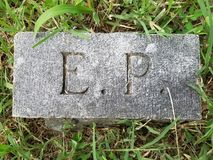 Headstone or gravestone Stock Photo