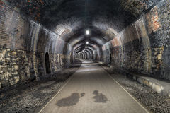 Headstone tunel w Derbshire Fotografia Stock