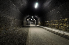 Headstone Tunnel Royalty Free Stock Images