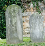 headstones кладбища Стоковое Изображение RF