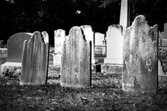 Headstones Stock Photography