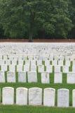 Headstones di guerra civile Immagini Stock