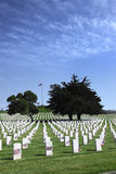 Headstones at United States National Cemetery Stock Photos