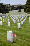 Headstones at United States National Cemetery Stock Photography