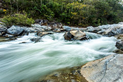 Headstream στο op-khan εθνικό chaingmai Ταϊλάνδη πάρκων Στοκ Φωτογραφίες