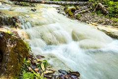 Headstream in  buatong waterfall national park  chaingmai Thaila Stock Photography