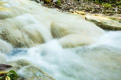 Headstream in  buatong waterfall national park  chaingmai Thaila Royalty Free Stock Photography