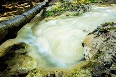 Headstream in  buatong waterfall national park  chaingmai Thaila Royalty Free Stock Photo