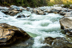 Headstream in op-khan national park  chaingmai Thailand Stock Image