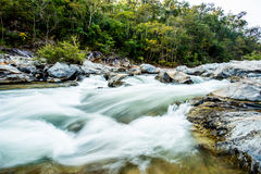 Headstream in op-khan national park  chaingmai Thailand Royalty Free Stock Images
