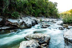 Headstream in op-khan national park  chaingmai Thailand Royalty Free Stock Photography