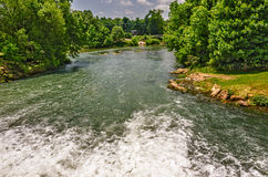 Headwater of the Spring River Royalty Free Stock Photo
