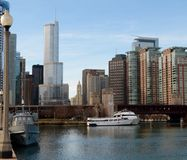 Headwaters of the Chicago River Stock Photography