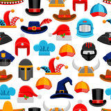 Headwear Seamless Pattern Royalty Free Stock Photography