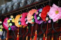 Headwear tradicional chinês foto de stock royalty free