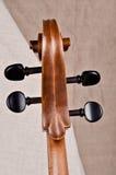 Heah di un violoncello Immagini Stock