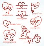 Heailth logo Royalty Free Stock Image