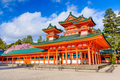 Heain shrine of Kyoto Royalty Free Stock Image