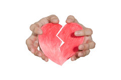 Heal a broken heart Royalty Free Stock Photography