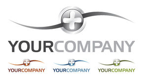 Heal logo (vector). Nice illustration of logo with different colors Stock Photo