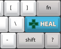 Heal symbol Royalty Free Stock Images
