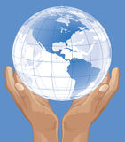 Heal The World. Vector, icon, logo, web design Stock Photography