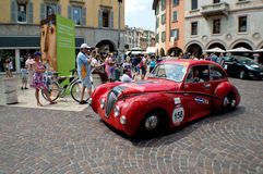 Healey 2400 Elliott  at Mille Miglia 2015 Stock Photography