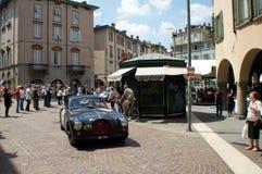Healey 2400 Mille的Miglia希尔弗斯通2015年 免版税库存图片