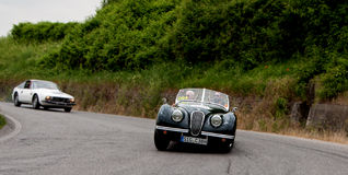 HEALEY  2400 Silverstone  1950 Royalty Free Stock Image