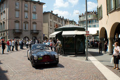 Healey 2400 Silverstone at Mille Miglia 2015 Royalty Free Stock Images