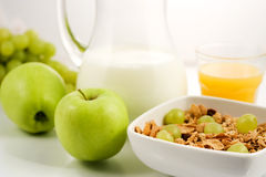 Healhty food, breakfast Stock Photos