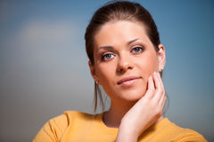 Healhty woman Royalty Free Stock Photography