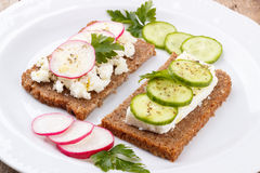 Healhy snack Stock Images