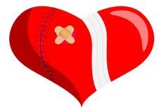 Healing a broken heart Stock Images