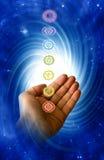 Healing chakra Stock Photography