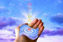 Healing chakra Stock Image