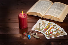 Healing and fortune-telling Stock Images