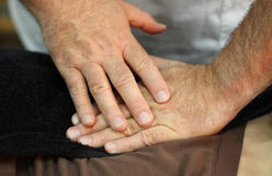 Healing hands Royalty Free Stock Photography