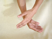 Healing Hands Royalty Free Stock Photos