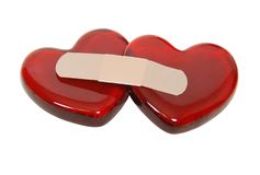 Healing hearts Royalty Free Stock Photo