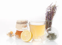 Healing herbs  Alternative medicine Royalty Free Stock Images