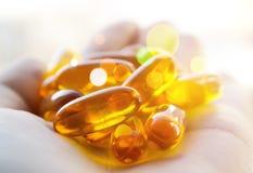 Healing pills Stock Photo