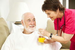 Healing Power of Orange Juice Stock Photos